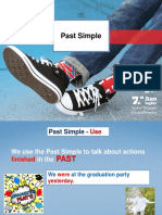 Past Simple - Verb to Be Regular Verbs