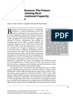 PIQ 12 Best-Practice Capacity Development
