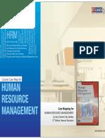 Human Resource Management - Course Case Map