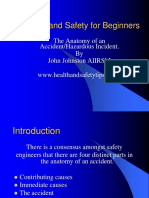 Health and Safty Presentation Accident