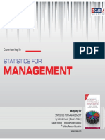 Statistics for Management - Course Case Map