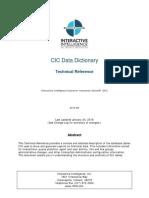 Data Dictionary Tr