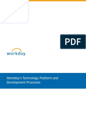 Whitepaper Workday Technology Platform Devt Process
