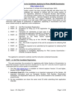 Guidelines_pilot online examination