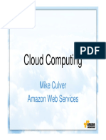 Cloud Computing With Amazon Web Services