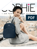 Katalog Sophie Martin Paris Maret 2018