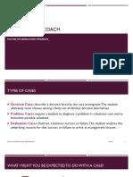 L1. Case Analysis Coach