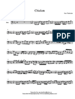 Jaco Pastorius - Chicken (Bass Score) Kensey