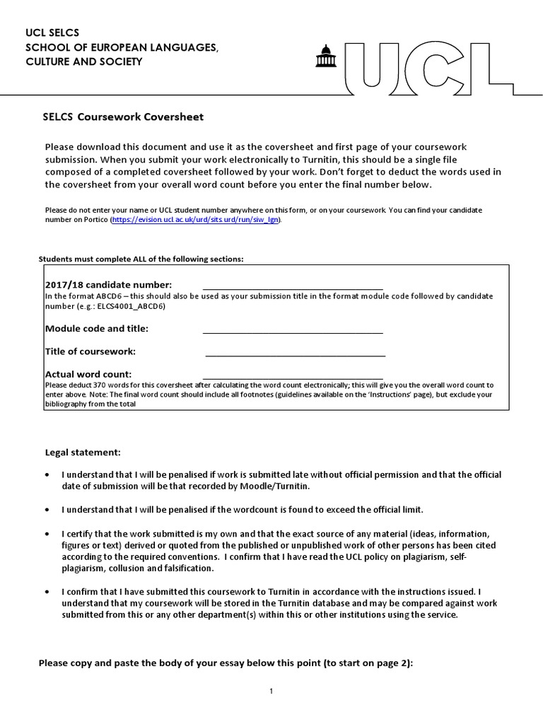 ucl selcs essay guidelines
