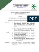 7.4.1.1 Sk Penyusunaan Rencana Layanan Medis Dan Terpadu Di Puskesmas