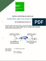 Skema Okupasi - Kualifikasi II Akuntansi