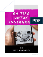 Ebook_Niko Arabella_64 Tips Untuk Instagram