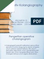 Kelompok 8 Operatif Cholongiography