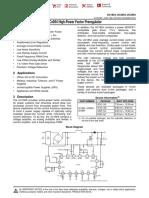 CI Corretor de Fator de Potência Uc3854