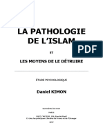Kimon Daniel La Pathologie de Lislam