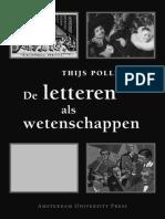 Pollmann—De letteren als wetenschappen .pdf