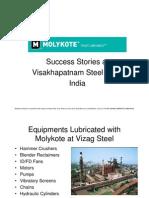 Visakhapatnam Steel Plant - Success Story - Sep 2010