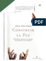 Thich Nhat Hanh - Construir La Paz.pdf