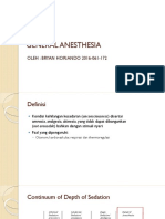 General Anesthesia Presentation