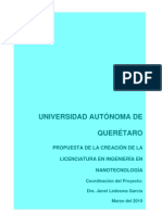 Proyecto Ingenieria en Nanotecnologia