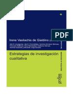 Ameigeiras, A. R. El Abordaje Etnográfico en La Investigación Social en Vasilachis de Gialdino, I. (Coord) Estratedias de Investigacion Cualitativa.