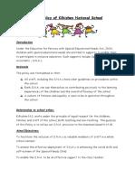 sna policy - september 2016
