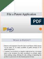 Patent Filling Process