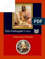 Srila Prabhupada Uvaca- 2nd March 2018. Lord Caitanya