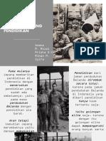 Sejarah indonesia|Dampak pendudukan jepang dalam bidang pendidikan