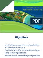 Hydrographic Surveying I