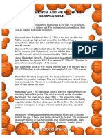 Equipments and Gear Up in Basketball