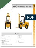 JCB 930-940 Spec Sheet