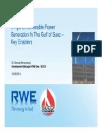 Hybrid Renewable Power Generation Feasibility in the GOS - Key Enablers
