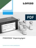 Package Insert - PYROSPERSE™ Dispersing Agent (English)_Original_27876