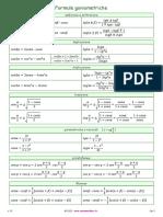 Formule goniometriche