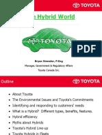 Hybrid Toyota Stremler