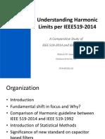 Understanding Harmonic Limits per IEEE519-2014