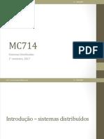 Sistemas Distribuidos - Aula 01