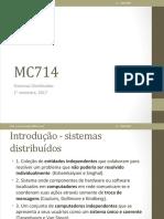 Sistemas Distribuidos - Aula 02