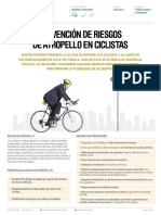 Prevencion de Riesgos de Atropello en Ciclistas