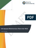 DRAFT CIS Amazon Web Services Three-tier Web Architecture v1.0.0