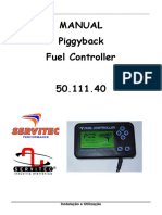 Manual fuel controller