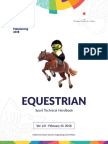 Equestrian Technical Handbook, the 18th Asian Games_28Feb2018