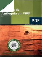 La Relación de Antioquia en 1808