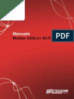 Manuale ADSL2%2BWi Fi N Technicolor