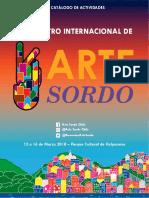 Primer Encuentro Internacional de Arte Sordo - Catalógo Digital de Actividades