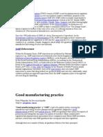 GMP Basics
