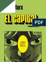 El Capital (Manga). 2a Parte - Marx