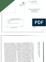 Língua Portuguesa Em Debate - Conhecimento e Ensino