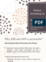 Fatwa for ASB and ASN
